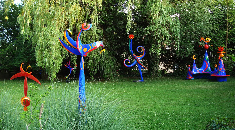 Skulpturgarten Claire Ochsner